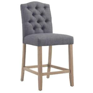 Grey Counter Stool Sale-WO 7648 (BD-2529)