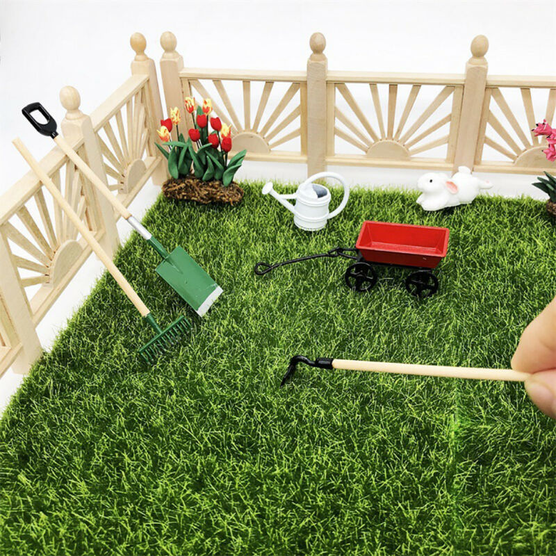 1/12 Fairy Tools Watering Can Cart