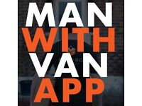 LONDON MAN WITH VAN | Removal Services | Request a Man and a van on the Canugo App| Uber Of Moving