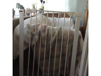 Stair gates for sale . 2 baby start nearly new stairgates