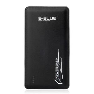 E-Blue EPB001 Slim Powerbank - 10,000 mAh - Black