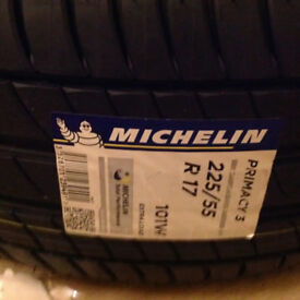 225 55 17 BRAND NEW Micheling Primacy 3. extra load XL 101W tyres