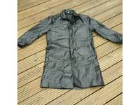 KIT. Mens leather coat