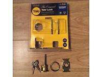 Yale locks backset cylinder only with keys