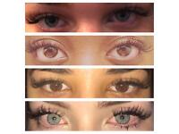 Individual Eyelash Extensions £45 - salon & mobile appointments
