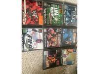 PlayStation Game Bundle x8