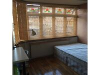 Clean double room ready for immediate occupation