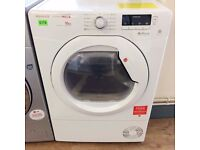 HOOVER, DynamicMega - 10KG, White, Sensor CONDENSER DRYER + 3 Month Guarantee + FREE LOCAL DELIVERY