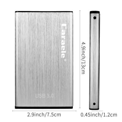 Tragbare 1 TB SSD Externe Festplatte (2,5 Zoll) High Speed USB-3.0-Anschluss ()