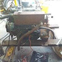 75 HP Isuzu Diesel engine with Transmission