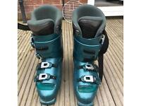 Men's ski boots & bag