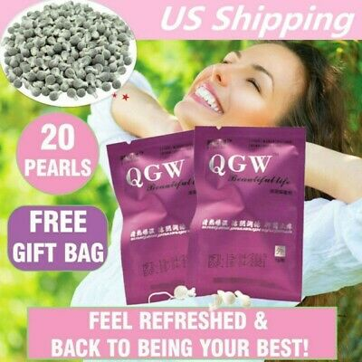 20 Best Natural Herbal Womb Yoni Vaginal Cleansing Healing Detox Pearls Tampons