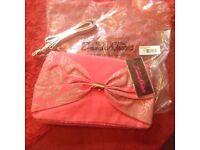 Zandra Rhodes pink handbag