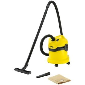 Kärcher WD2 Wet and Dry Vacuum Cleaner + FREE hoover bags