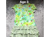 Oilily Lady Bug Dress Age 3
