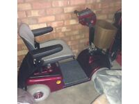 Electric disabled buggy. Excellent condition with accessories £350 ono