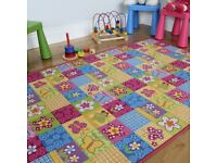 Girls patchwork rug