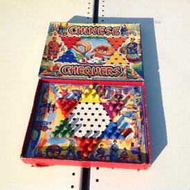 Vintage Chinese Chequers Game