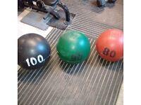 Strongman Atlas Stones: 80kg, 90kg, 100kg & Platform