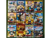 12x Thomas The Tank Engine DVDs