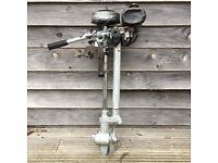 British Seagull 40+ vintage outboard engine