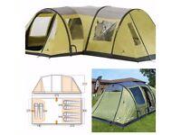 Vango Airbeam Infinity 600 Tent, Canopy, Footprint & Carpet