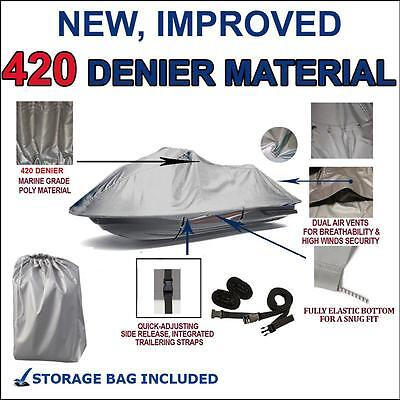 420 DENIER Jet Ski PWC Cover for SeaDoo RX DI 2000-2003 Trailerable 2 Seater