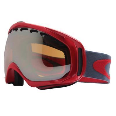 Oakley 57-020 Crowbar Viper Red w/ Black Iridium Lens Mens Snow Ski Goggles .