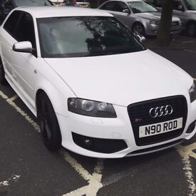 Immaculate Audi S3 19 inch black Audi S5 wheels with new tyres.