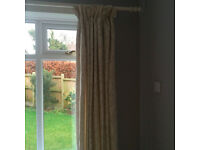 2 pairs of exceptional full length curtains