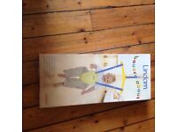 Boxed Lindam baby bouncer