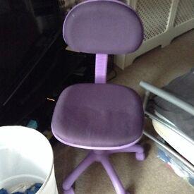 **Purple Desk Chair**