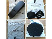 Manthorpe SmartVerge - 28x Smart Verge Dry Verge Units, 2x Closure Unit & 1x Ridge End Cap (black)