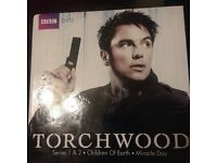 Torchwood Box Set Series 1 & 2 - 18 Discs