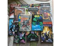 Bundle of marvel and dc comics