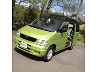 FUNKY STUNNING COLOUR! MAZDA BONGO 2.5 TD 4WD DAY MPV SURF BUS /CAMPER/BRAND NEW MOT&CAMBELT KIT