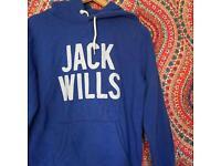 Jack wills hoodie hardly worn!