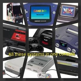 10 in 1 retro gaming console(new)