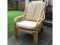 Conservatory furniture - 2 seater and 2 x 1 seater
