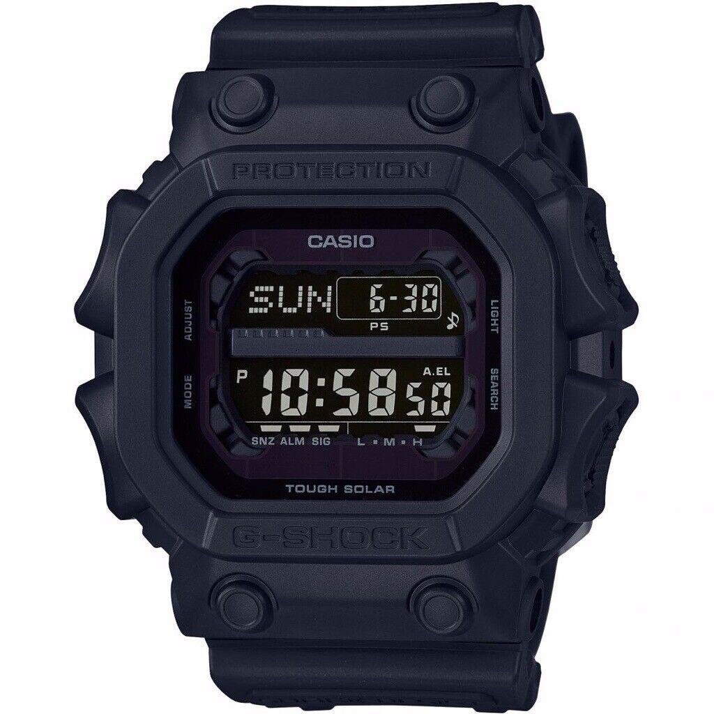 65ac245f21 Casio G-Shock GX56BB-1DR Tough Solar Mud Resistant Black Out Men's Watch