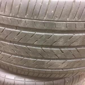 4 pneus d'été 245/45/18 Michelin Hx mxm4 Pilot, 50% d'usure, 6/32 de mesure.