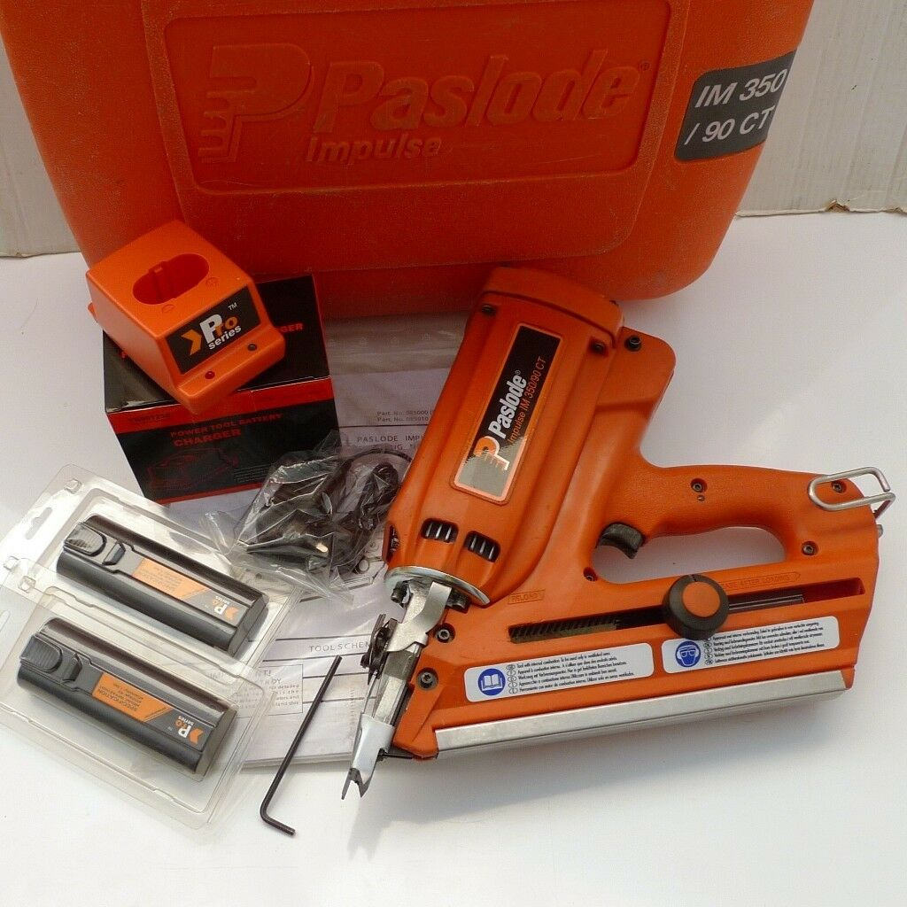 Paslode Im350 Orange Probe Nail Gun 1 Year Warranty In
