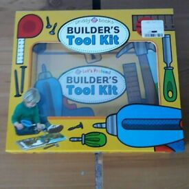 Builders Tool Kit Board Book (Learning Toy) by Priddy Books NEW