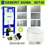 Geberit UP320 Toiletset set38 Grohe Sensia Complete douch...