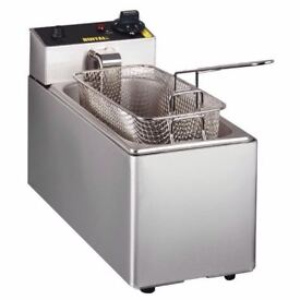 Chips Fryer Electric Single Tank Countertop 3Ltr