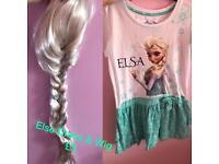 Else wig and dress