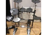 Roland TD-3 and Pearl P-122TWC double bass pedal