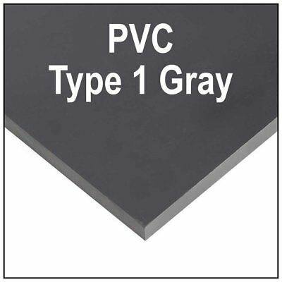 14 6mm Gray Polycarbonate Pvc Type 1 Sheet 12x12 Azm Clearance