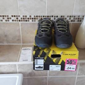 Dunlop safety trainers steel toe size 7