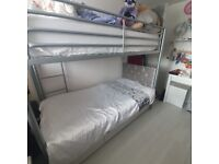used metal bunk beds